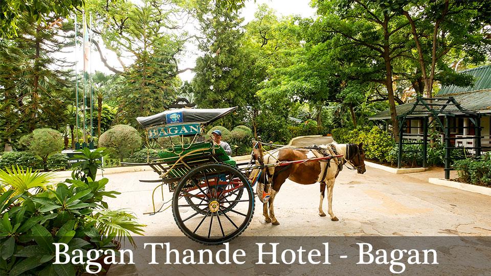 Bagan Thande Hotel Bagan Myanmar